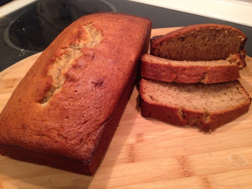 Lightened Up Banana Bread- Alt