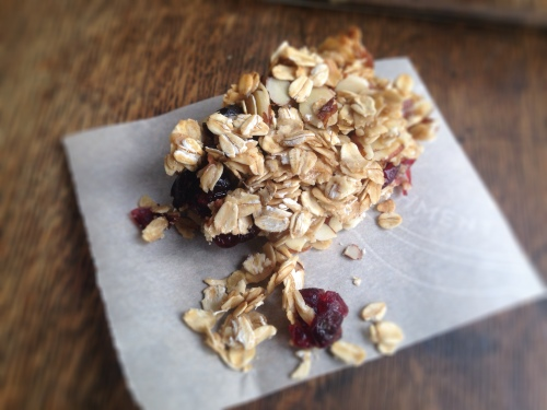 Cranberry Oatmeal Granola Bars- chewy, crunchy, delicious!