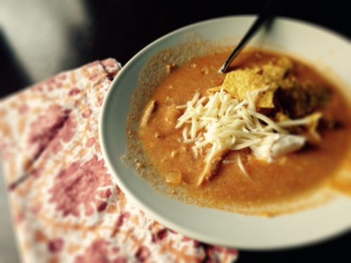 chicken enchilada soup- authentic and delicious
