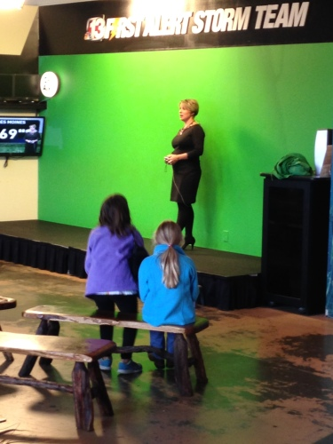 Learning about the Weather at the Science Center of Iowa