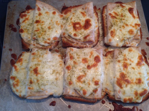 Mozzarella and Turkey Toast 2