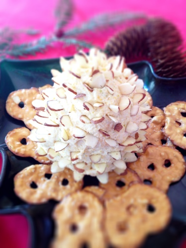 pinecone cheese spread 16