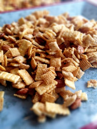Mircrowave Chex Caramel Crunch 2