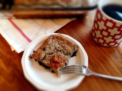 Healthy blueberry coffecake 2