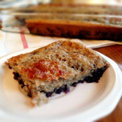 Healthy blueberry coffecake 17