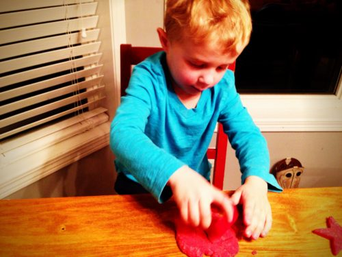 Fruity play dough 16