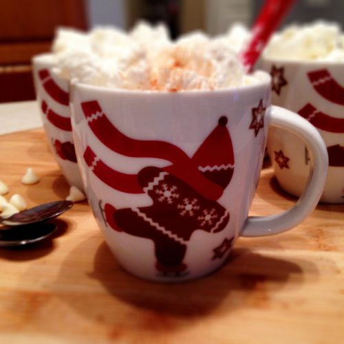 Gingerbread White Hot Chocolate 4