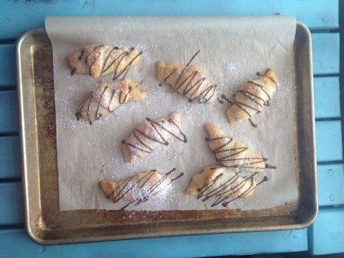 Chocolate croissants 38