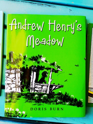 Andrew Henry's Meadow- an excellent picture book about a creative boy.