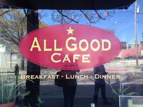 All Good Cafe, Deep Elum, Texas