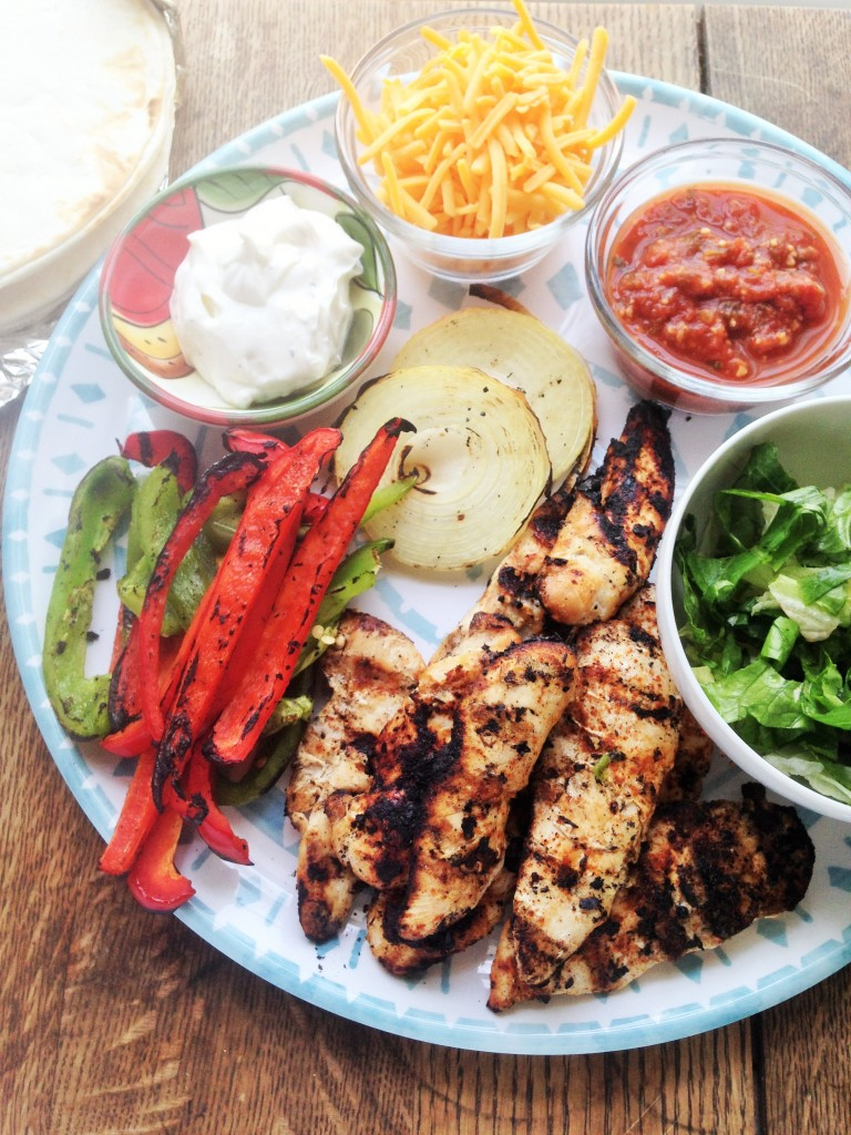 Balsamic Lime Chicken Fajitas