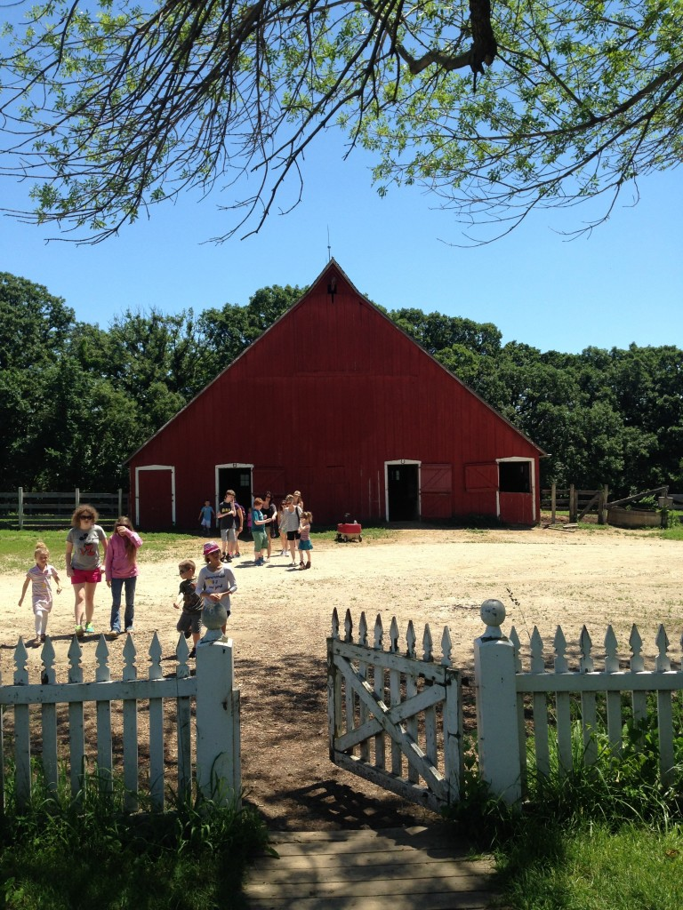 Visiting Living History Farms