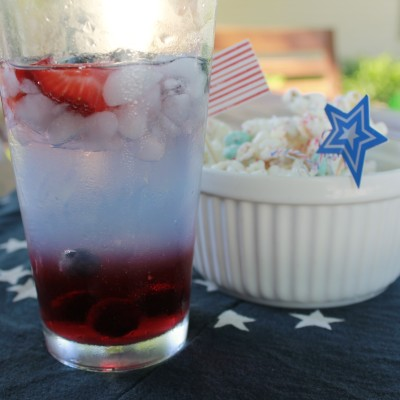 Red, White, and Blue Drink
