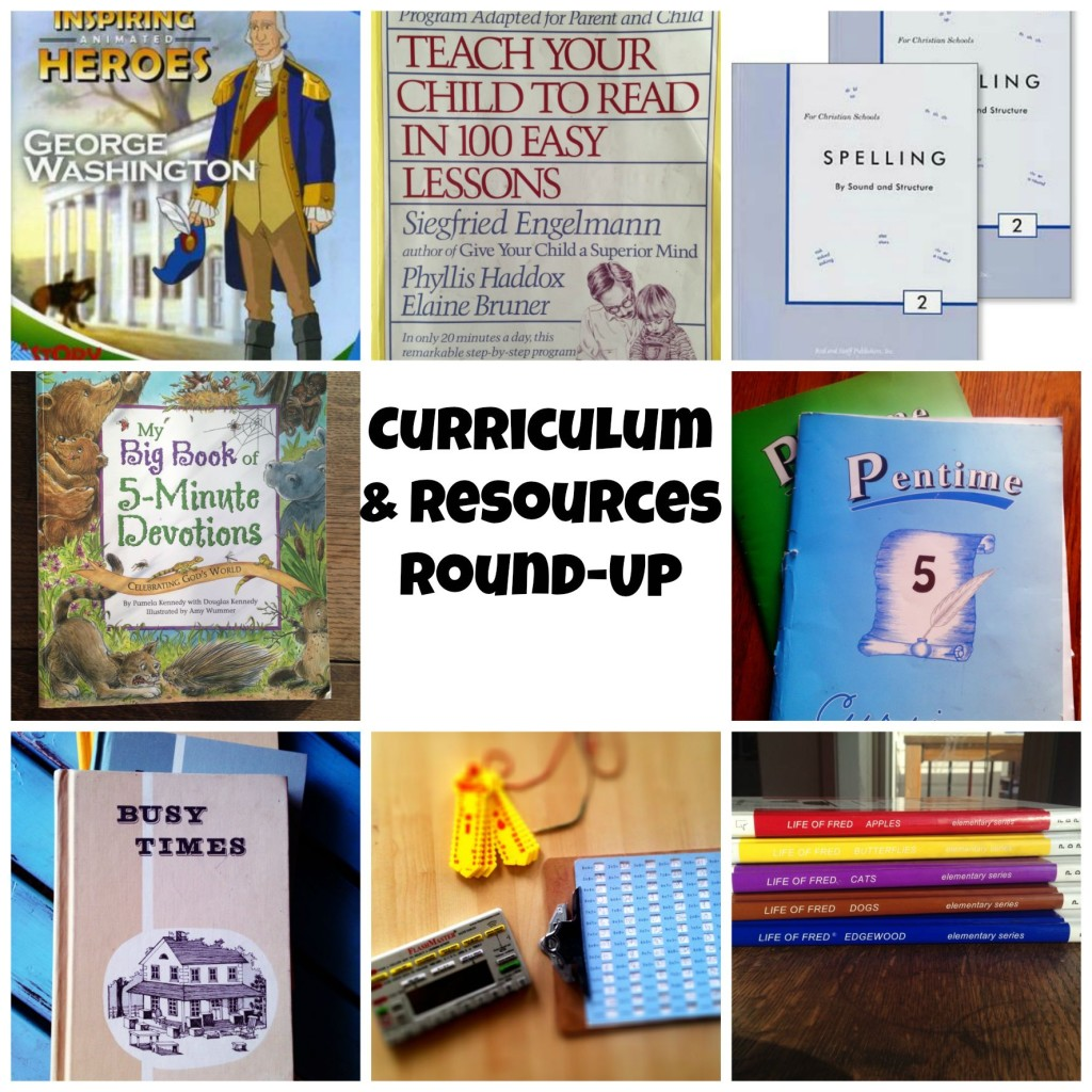Curriculum and Resources Round-Up