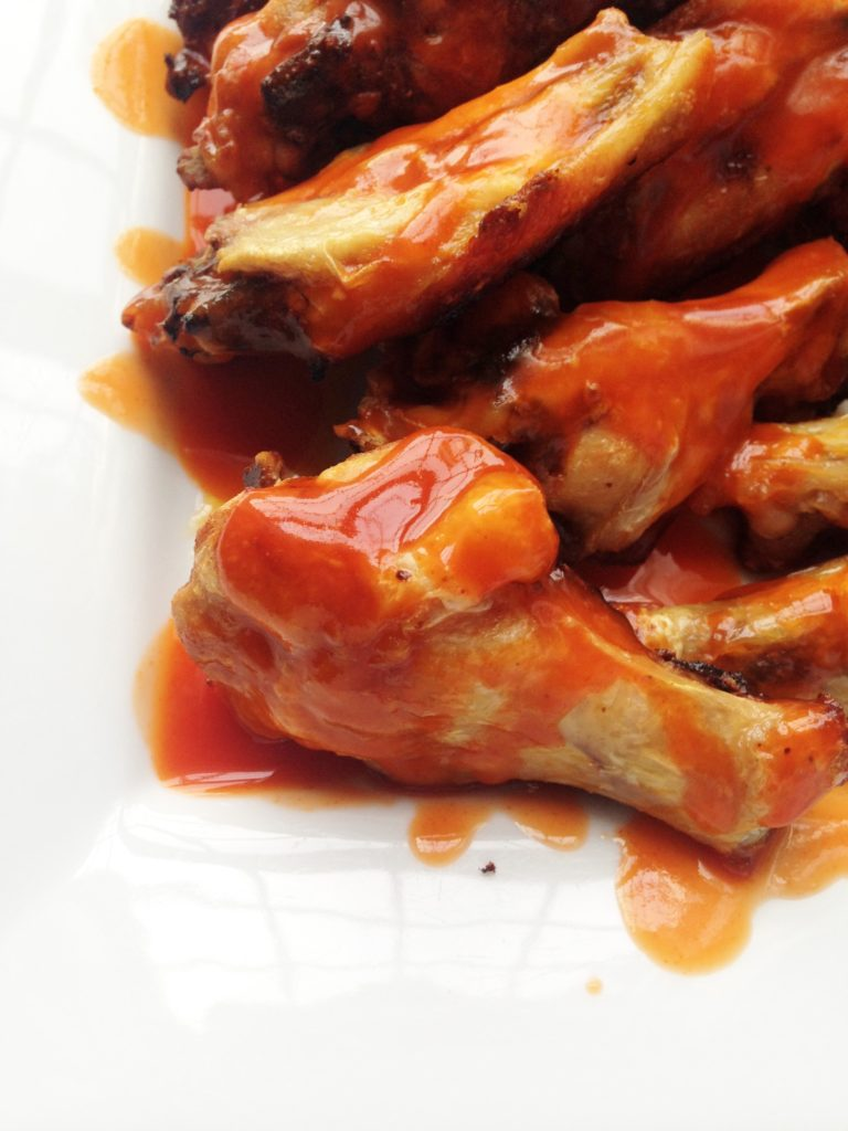 Easy Baked Buffalo Wings, Trim Healthy Mama