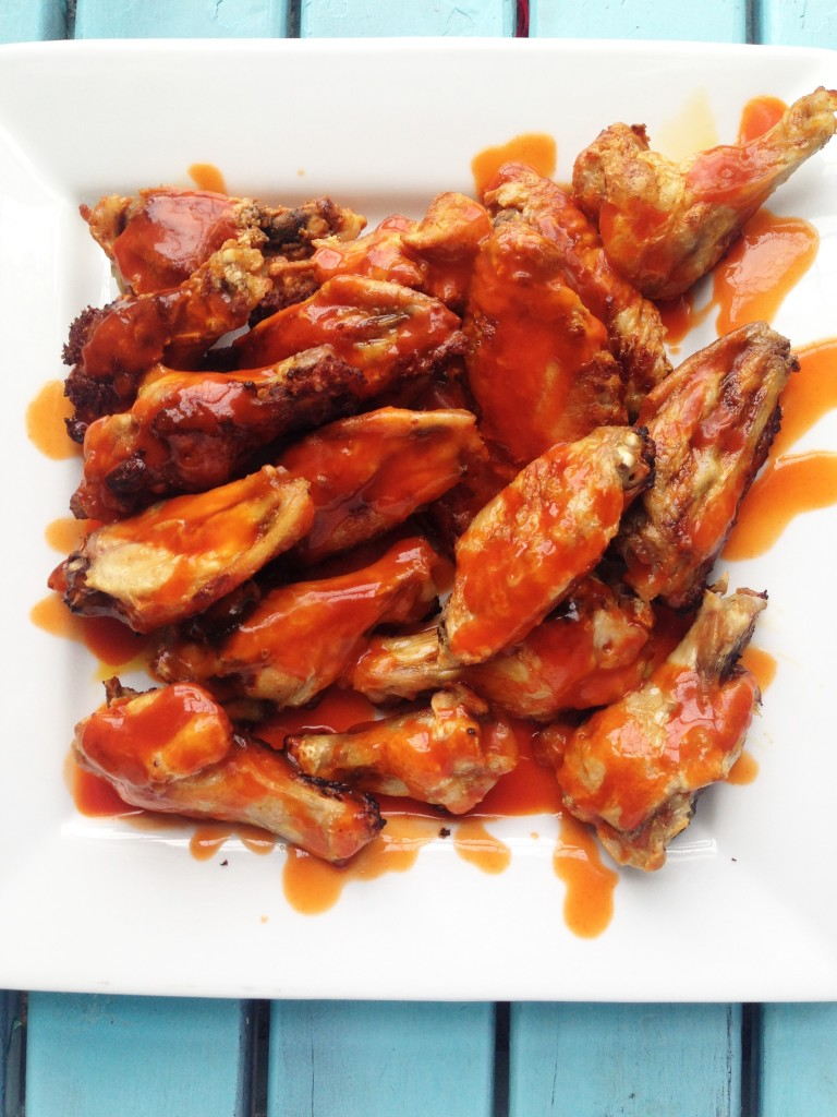 Easy Baked Buffalo Wings from Trim Healthy Mama