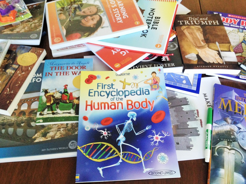 New homeschool book day