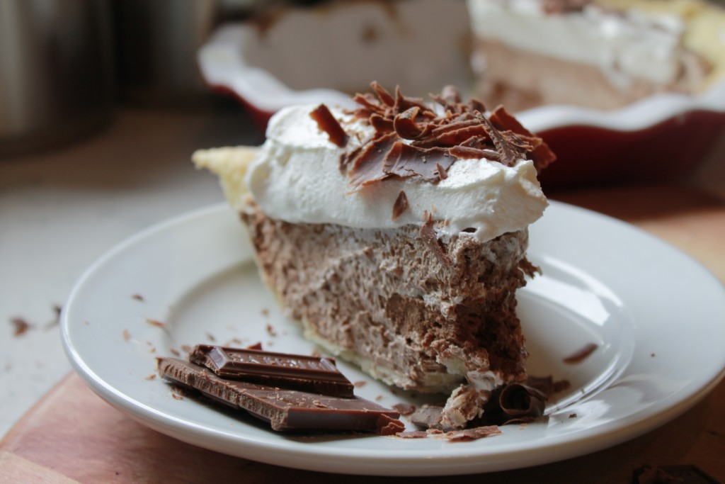 French Chocolate Pie