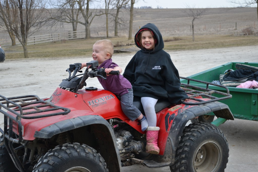 Lovin' the 4-wheeler