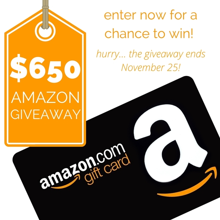 Amazon Giveaway Square