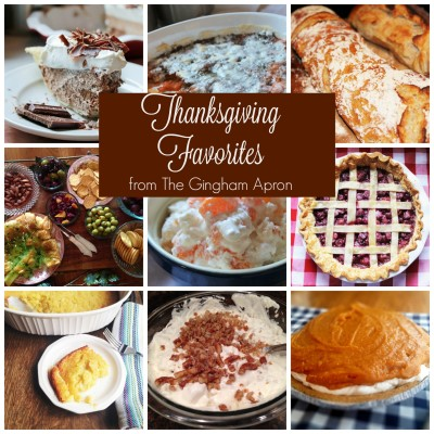Thanksgiving Favorites- Everything But The Turkey!