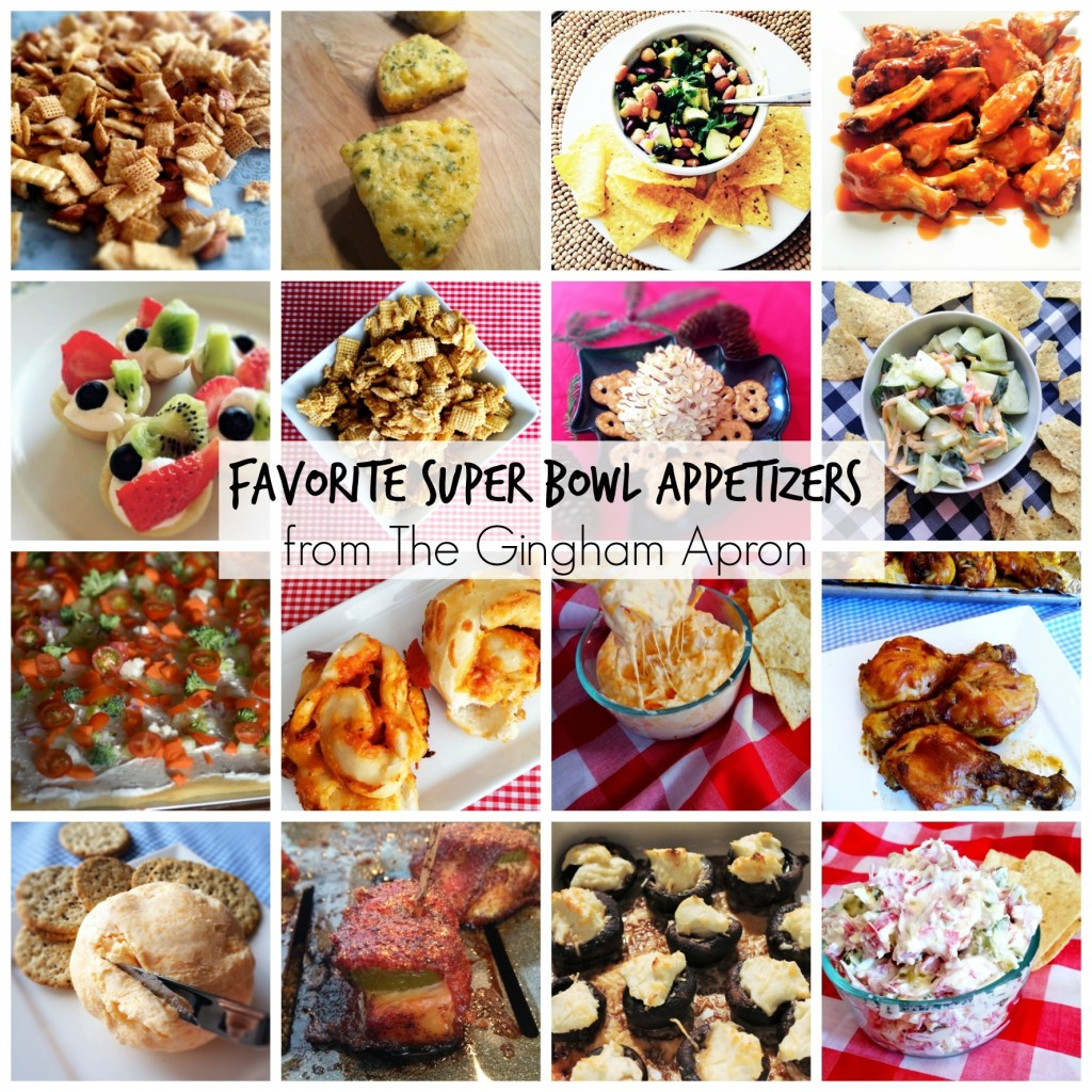 Favorite Super Bowl Appetizers from The Gingham Apron