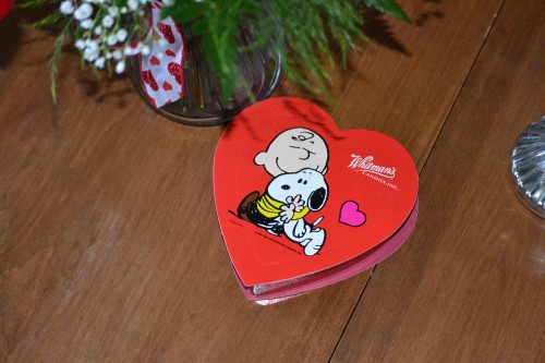 Charlie Brown chocolates