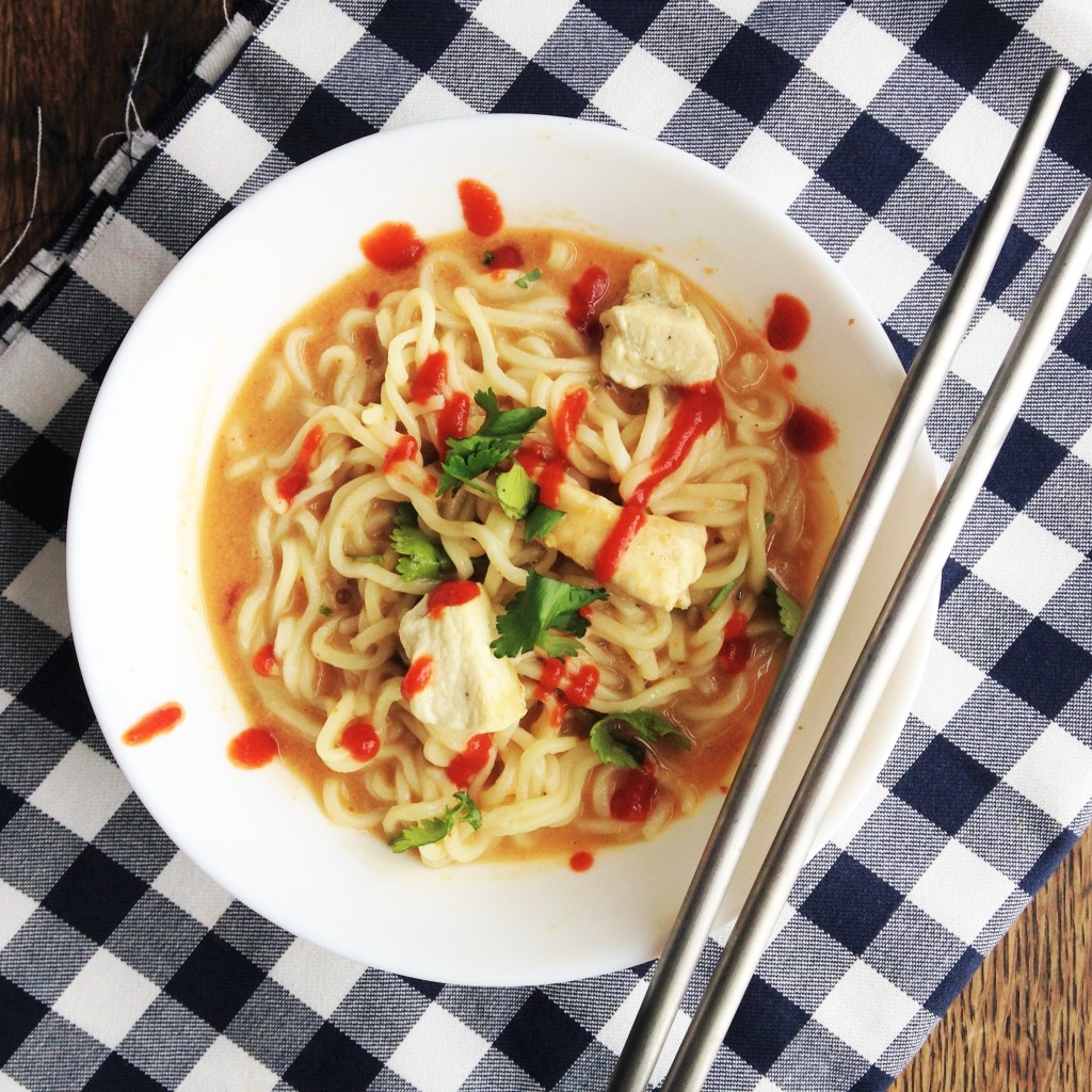Spicy Thai Peanut & Chicken Noodles