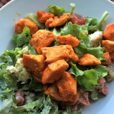 Happy Father's Day + Buffalo Chicken Salad