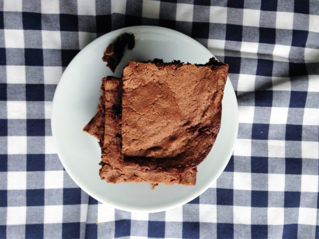 One Bowl, Five Ingredient Brownies