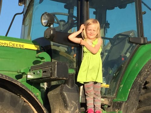Anna and the tractor