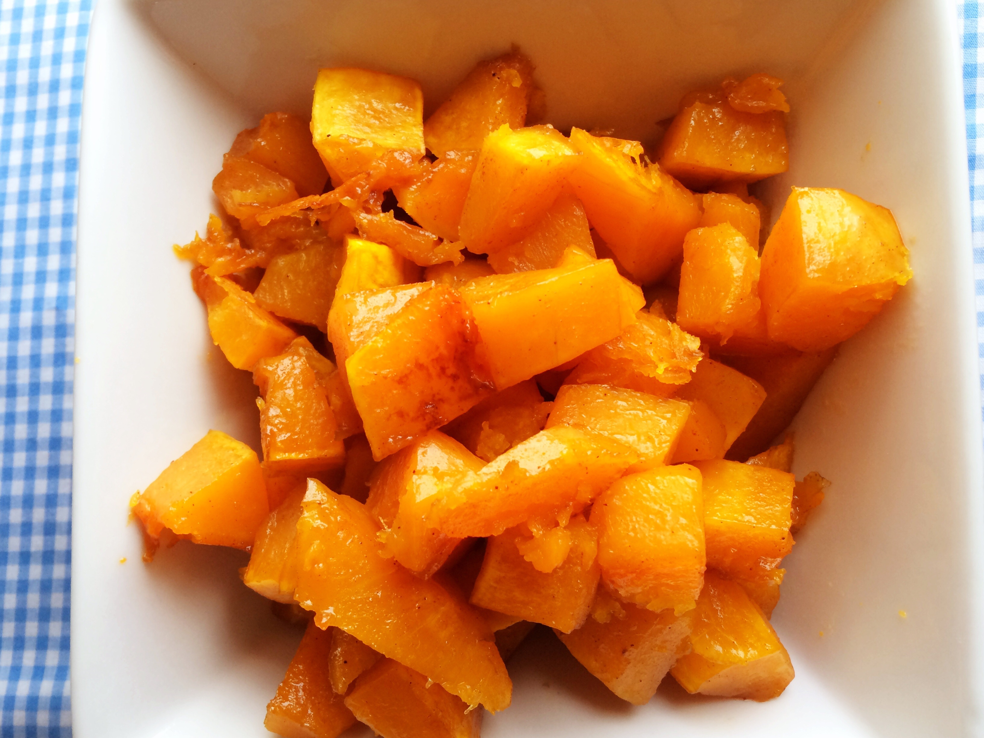 Maple Cinnamon Squash