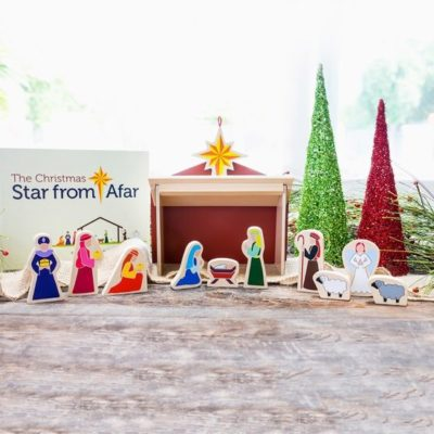 Family Holiday Activity!  Christmas Star From Afar