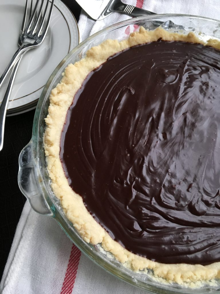Simple French Chocolate Tart