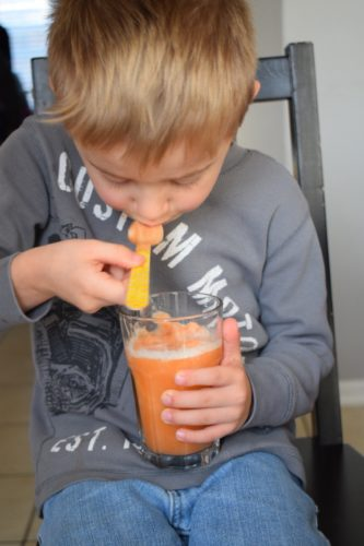 Carrot Orange Pineapple Smoothie
