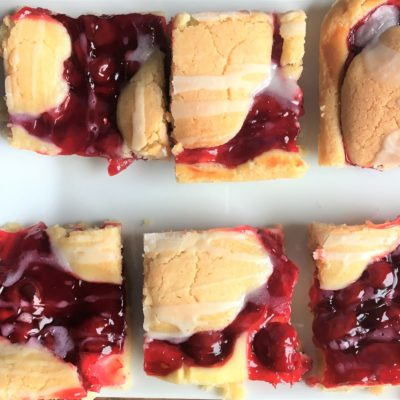 Cream Cheese Cherry Bars