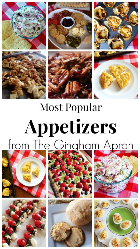 Easy last minute super bowl appetizers the gingham apron for Super bowl appetizers pinterest