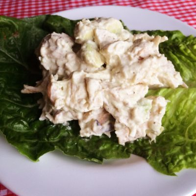 Healthy Avocado Chicken Salad!