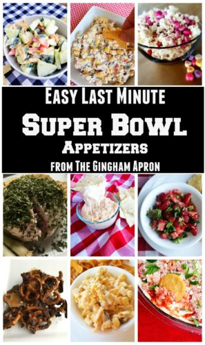 Easy Last Minute Super Bowl Appetizers