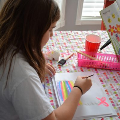 Favorite Homeschool Art Books, Resources, and Ideas