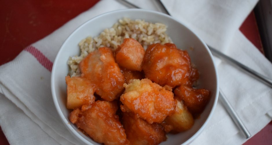 The Easiest Sweet and Sour Chicken