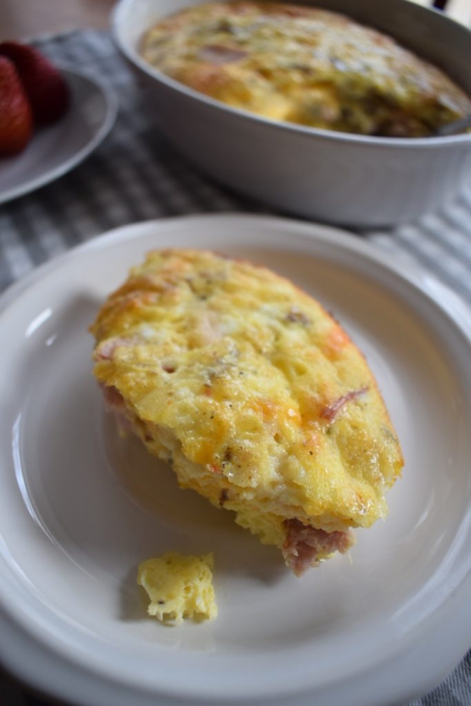 Crustless Egg Quiche