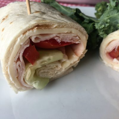 Turkey Veggie Wrap
