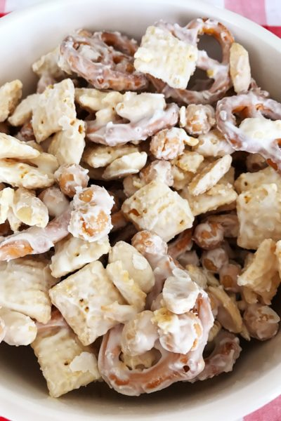 Blizzard Party Snack Mix