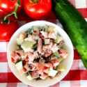 Bacon, Tomato & Cucumber Salad