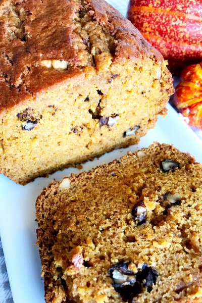 GiGi's Old Fashioned Pumpkin Bread