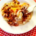 Sour Cream Hamburger and Noodle Bake