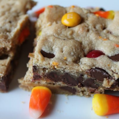 Candy Chocolate Chip Bars