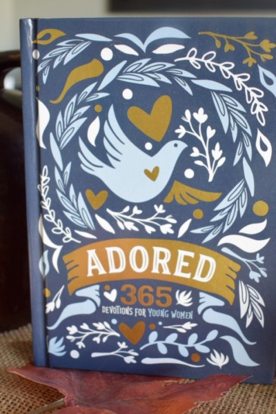 Adored, 365 Devotions for Young Women and a GIVEAWAY!