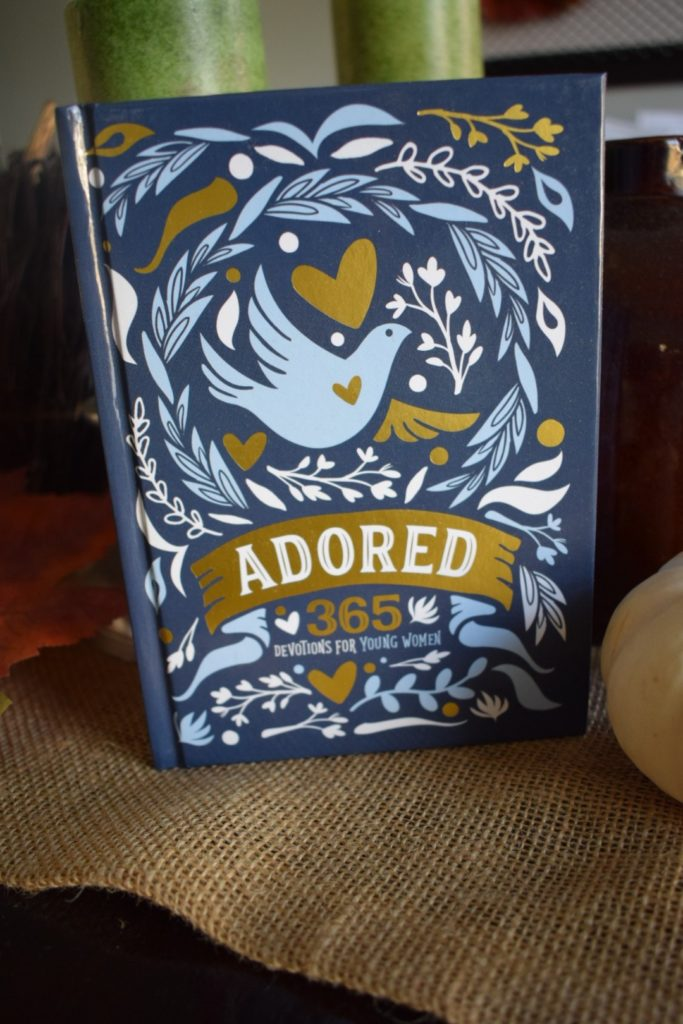Adored, 365 Devotions for Young Women by Lindsay A Franklin